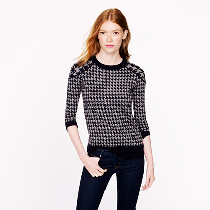 Houndstooth jcrew