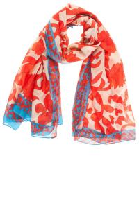 ancaster floral scarf
