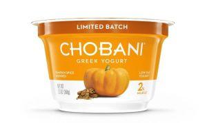 chobani pumpkin