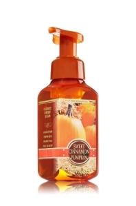 pumpkin foaming hand soap