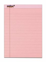 pink legal pads